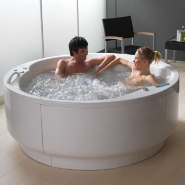 vasca tonda idromassaggio