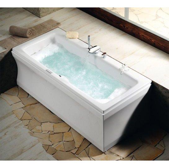 Vasca rettangolare di grande dimensione - Dimensione bagno ...