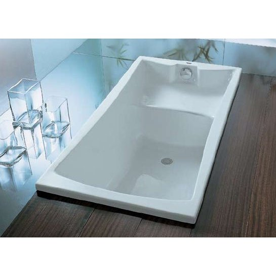 Vasca da bagno 140 cm boiserie in ceramica per bagno - Vasche da bagno piccole dimensioni ...