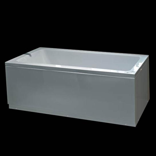 Adela vasca rettangolare fuori misure - Vasche da bagno asimmetriche 160x70 ...