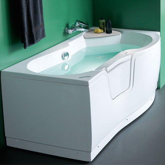 Vasca da bagno con porta vasca per anziani - Vasca bagno con porta ...