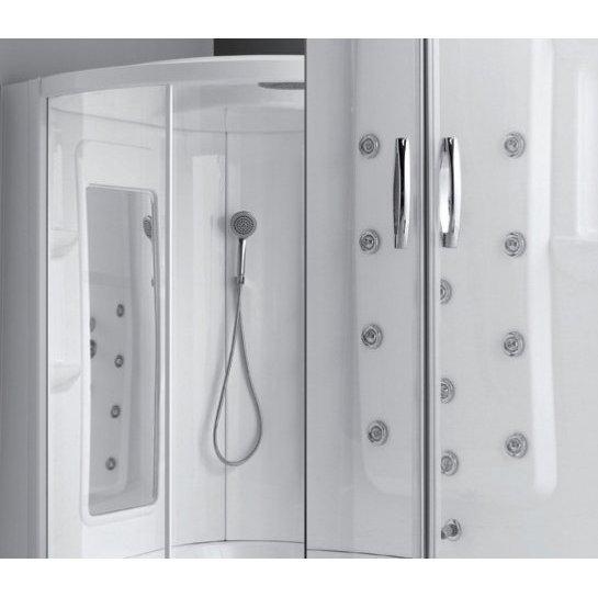 Combinato angolare vasca e doccia 135 x 135 cm - Combinato vasca doccia ...