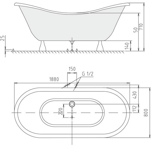 Dimensioni vasche da bagno piccole ex01 regardsdefemmes - Vasca da bagno misure minime ...