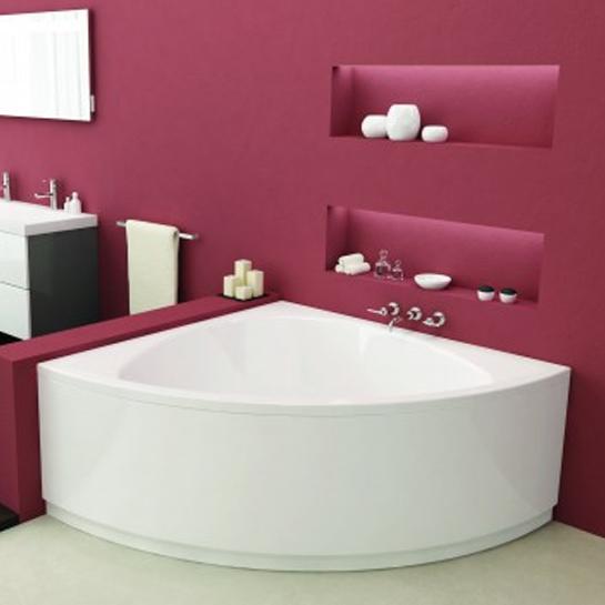 Vasca angolare idromassaggio 140 x 140 cm - Misure vasche da bagno angolari ...