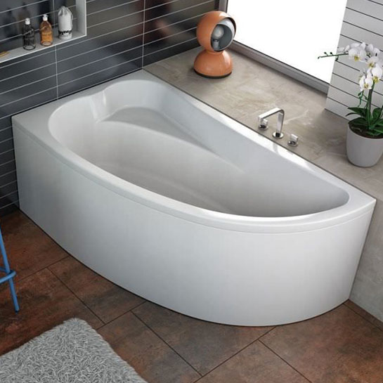 Vasca angolare con parete doccia - Vasche bagno angolari ...