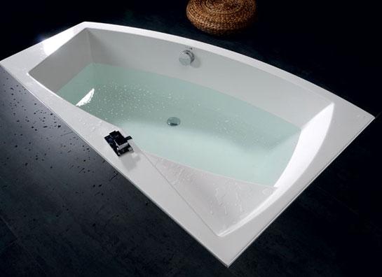 Vasche Da Bagno Angolari Asimmetriche : Vasca angolare idromassaggio asimmetrica