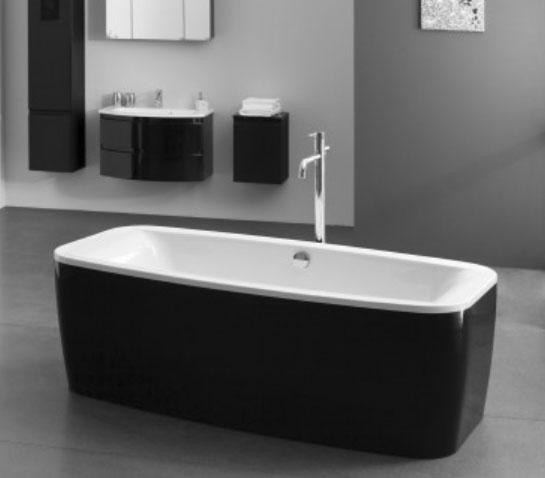 Vasca rettangolare idromassaggio centro stanza - Vasche da bagno centro stanza ...