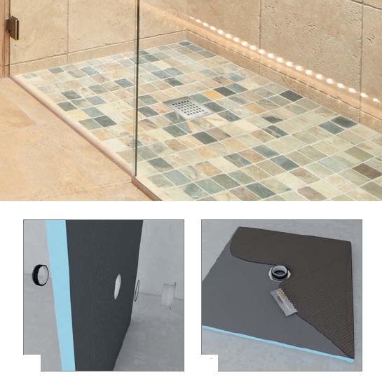 Piatto doccia a filo - Piatto doccia pavimento ...