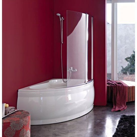 Vasca angolare asimetrica - Vasche da bagno con box doccia ...