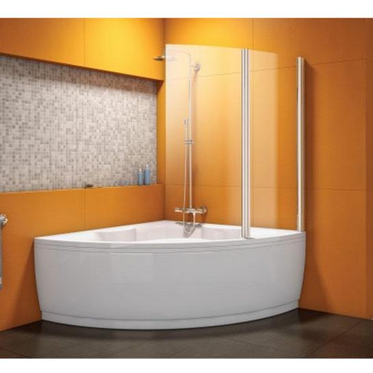 Vasca angolare > Parete doccia per vasca da bagno angolare Attenzione ...