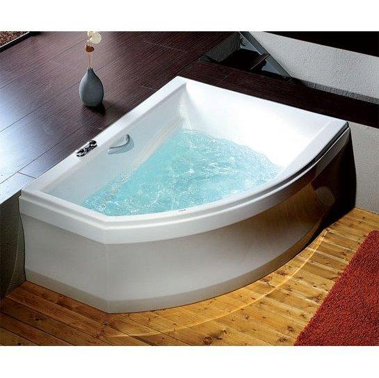 Vasche angolari asimmetriche boiserie in ceramica per bagno - Vasche bagno angolari ...