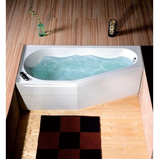 Vasca idromassaggio asimetrica - Vasca da bagno angolare misure ...